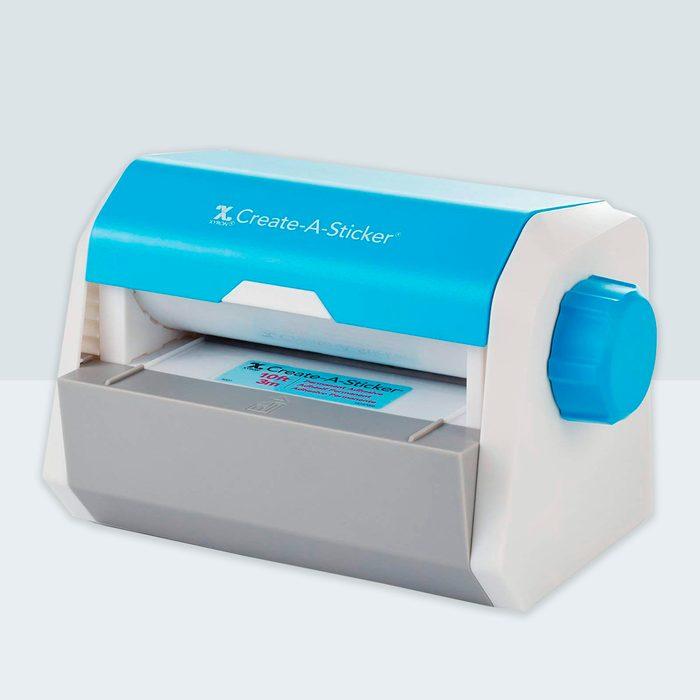 "Xyron Create-a-Sticker, 5"", Sticker Maker, Machine, Permanent Adhesive (0501-05-10A)"
