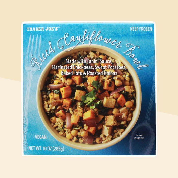 Trader Joes Riced Cauliflower Bowl