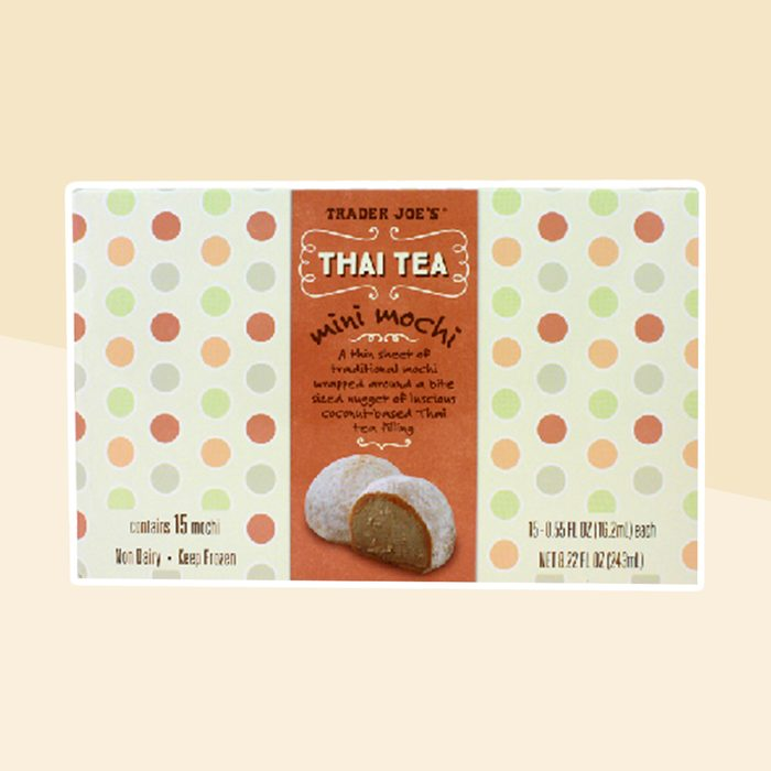 Trader Joes Thai Tea Mini Mochi