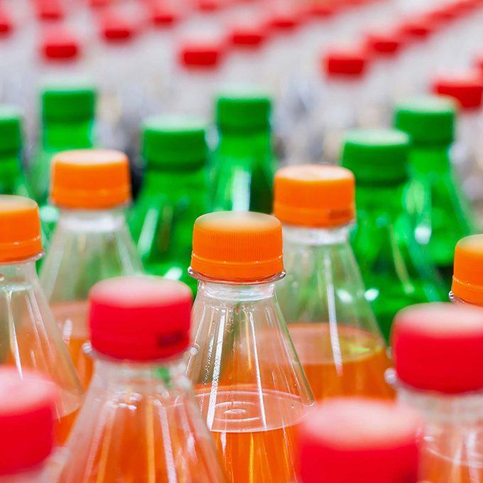 Bottles of soda