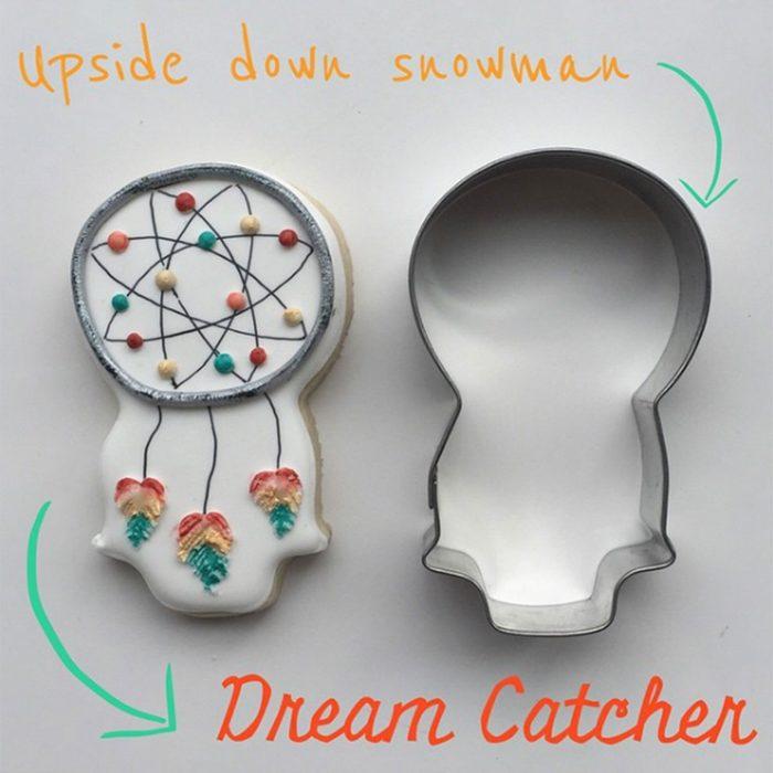 Snowman as Dream Catcher