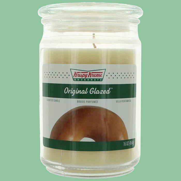 Krispy Kreme candle