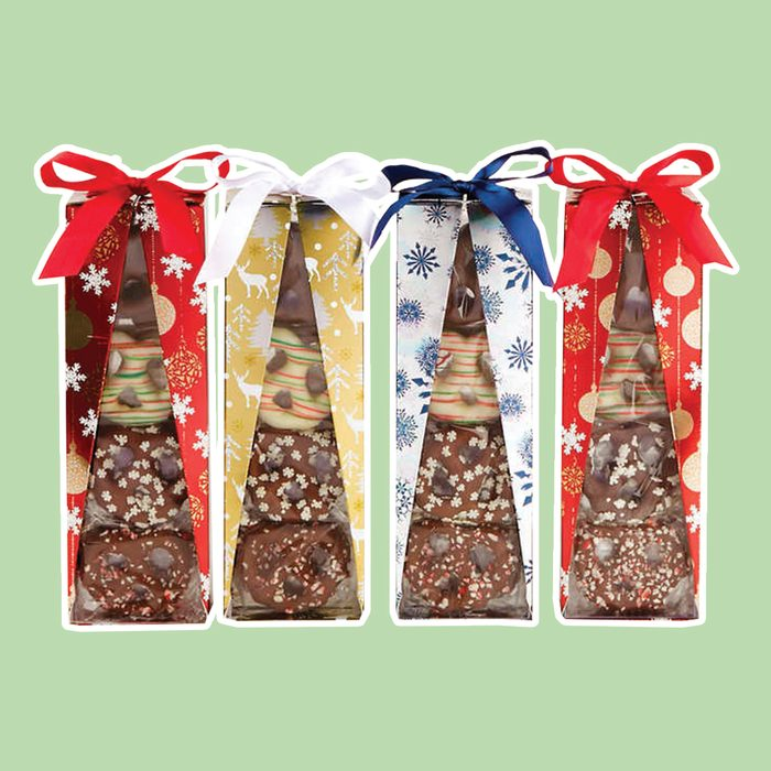 Harry & David Chocolate Covered Holiday Pretzel Gift Set, 4-count
