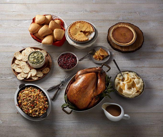 Boston Market turkey spread