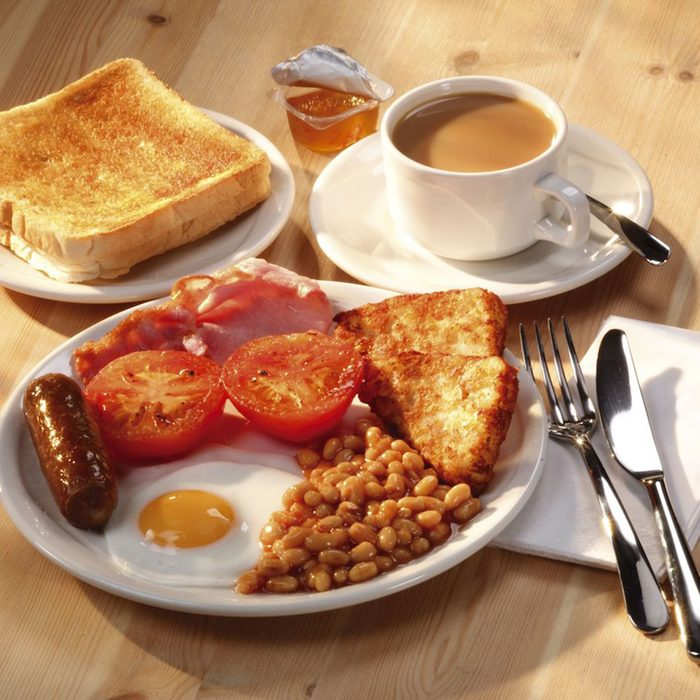 Mandatory Credit: Photo by Food And Drink/REX/Shutterstock (2124291a) english breakfast Food and Drink