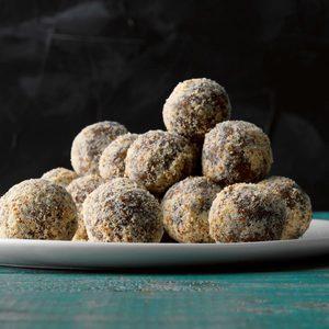 Almond-Pecan Date Truffles