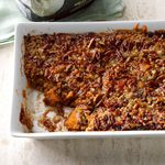 Apple-Sweet Potato Pecan Dump Cake