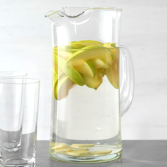 Apple and Ginger Infused Water