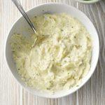 Asiago Mashed Cauliflower