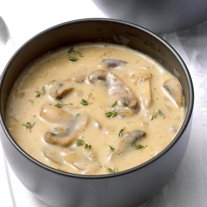 Dairy-Free Cream of Mushroom Soup