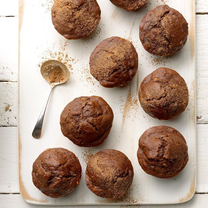 Egg Free Double Chocolate Banana Muffins  Exps Thfm19 206331 B10 02 10b 8