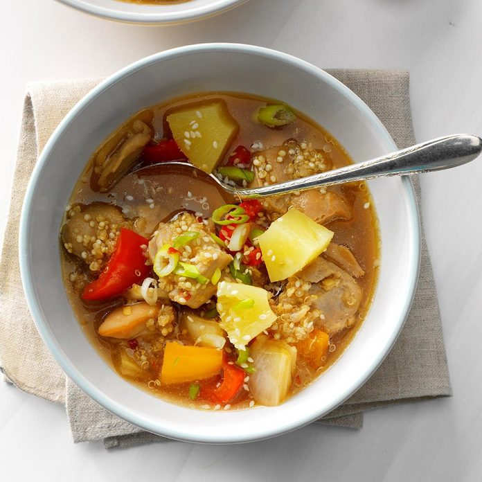 Ginger Chicken And Quinoa Stew Exps Sdfm19 232492 B10 10 1b 1