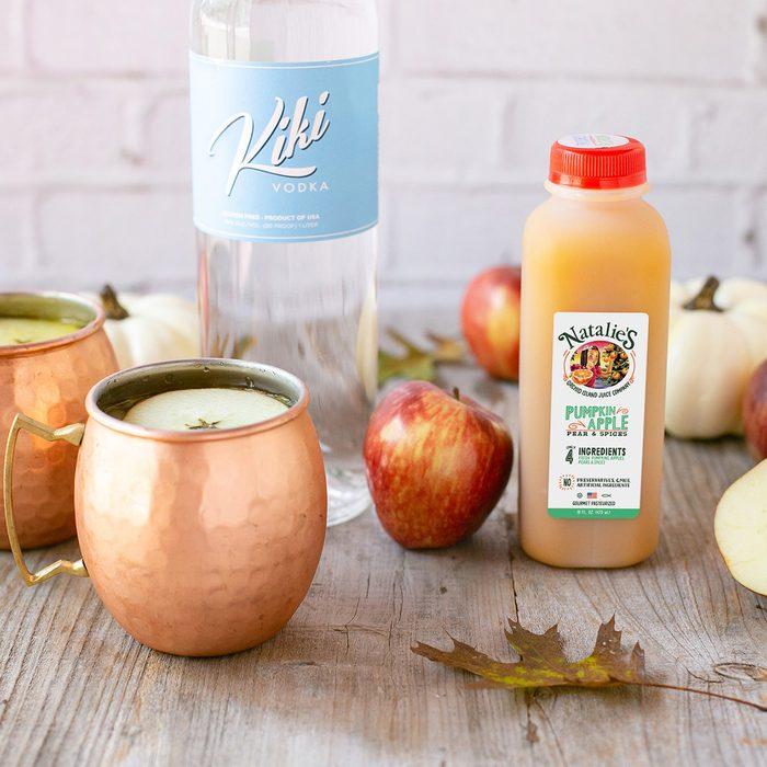 Pumpkin Apple Spice Mule