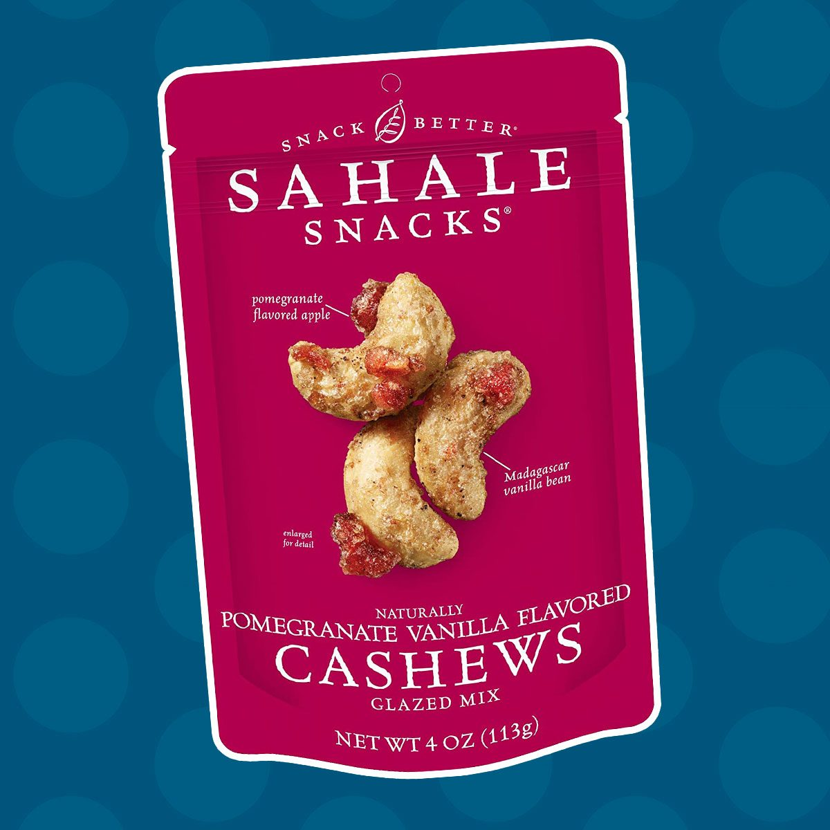 Sahale Snacks Pomegranate Vanilla Cashews
