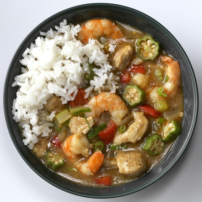 June 8: Turkey Shrimp Gumbo