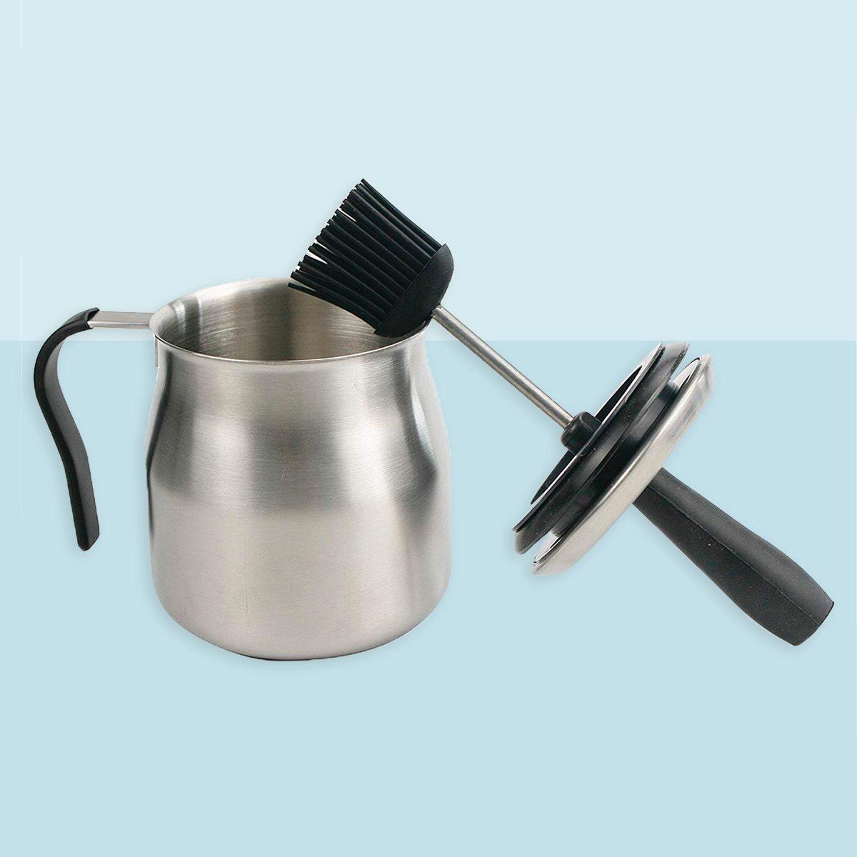 iZAN BBQ Basting Pot with Basting Brush
