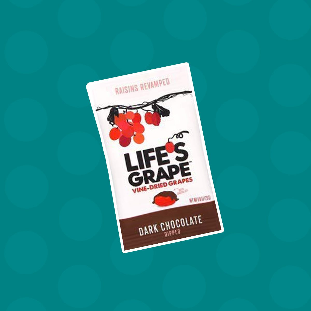 Life's Grape Vine Dried Grapes - Dark Chocolate