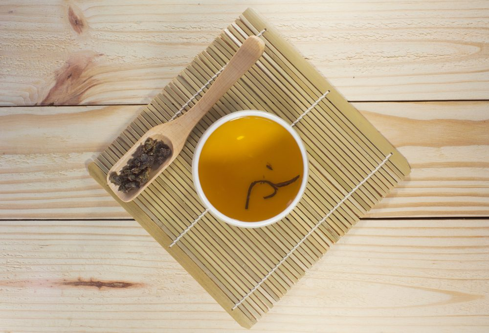 oolong tea bamboo placemat
