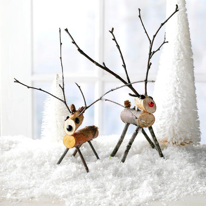 Stick Reindeer