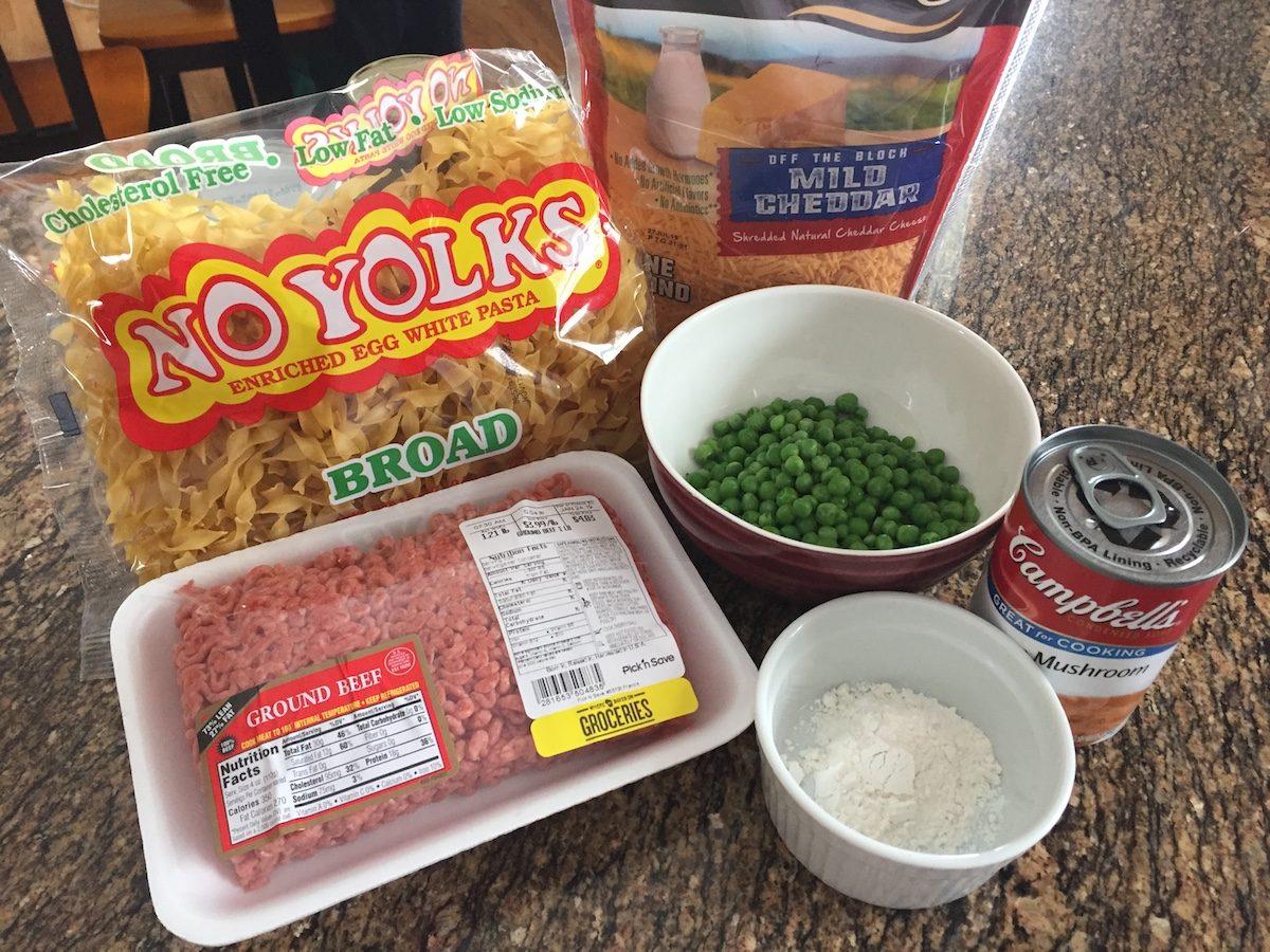 Amish Yummasetti Ingredients