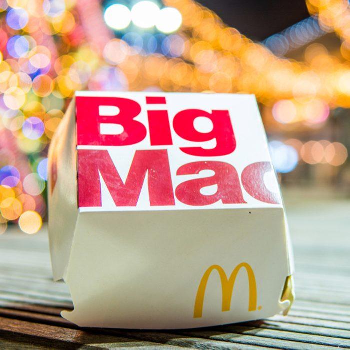 McDonald's Big Mac night