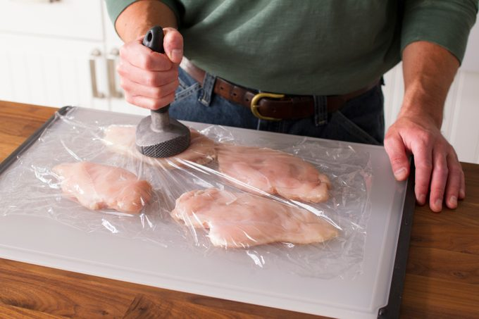 how to cook boneless skinless chicken breasts pound