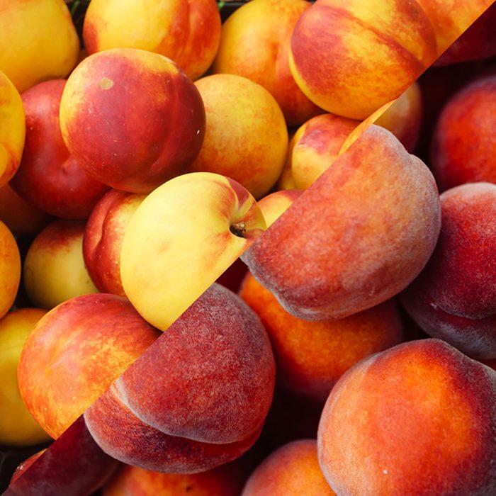 Nectarines vs peaches