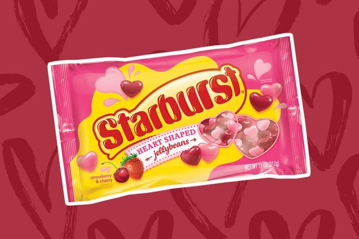 starburst heart shaped jelly beans