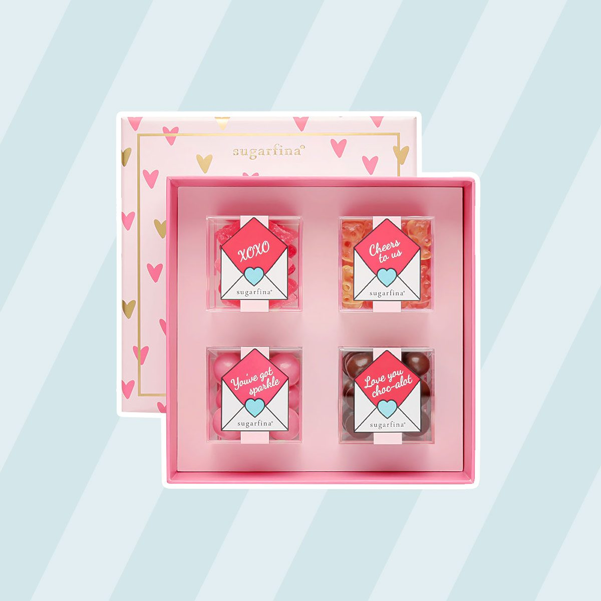 Sugarfina Xoxo Candy Bento Box