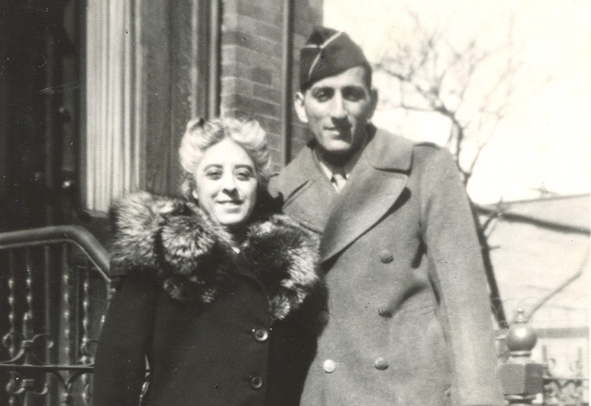 Tony Bennett and mother, Anna Benedetto