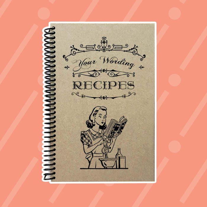Custom recipe book