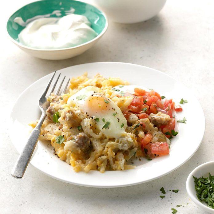 All-in-One Slow Cooker Breakfast
