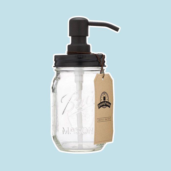 Jarmazing Mason Jar Soap Dispenser 2