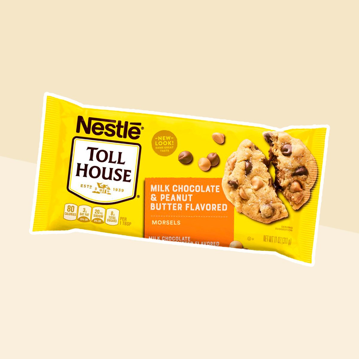 Nestlé Toll House Peanut Butter & Milk Chocolate Morsels