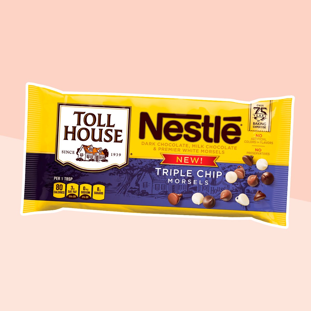 Nestlé Toll House Triple Chip Morsels