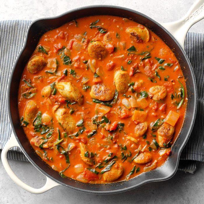 Sausage Tomato Coconut Curry  Exps Sdam19 234272 B12 05 8b 7