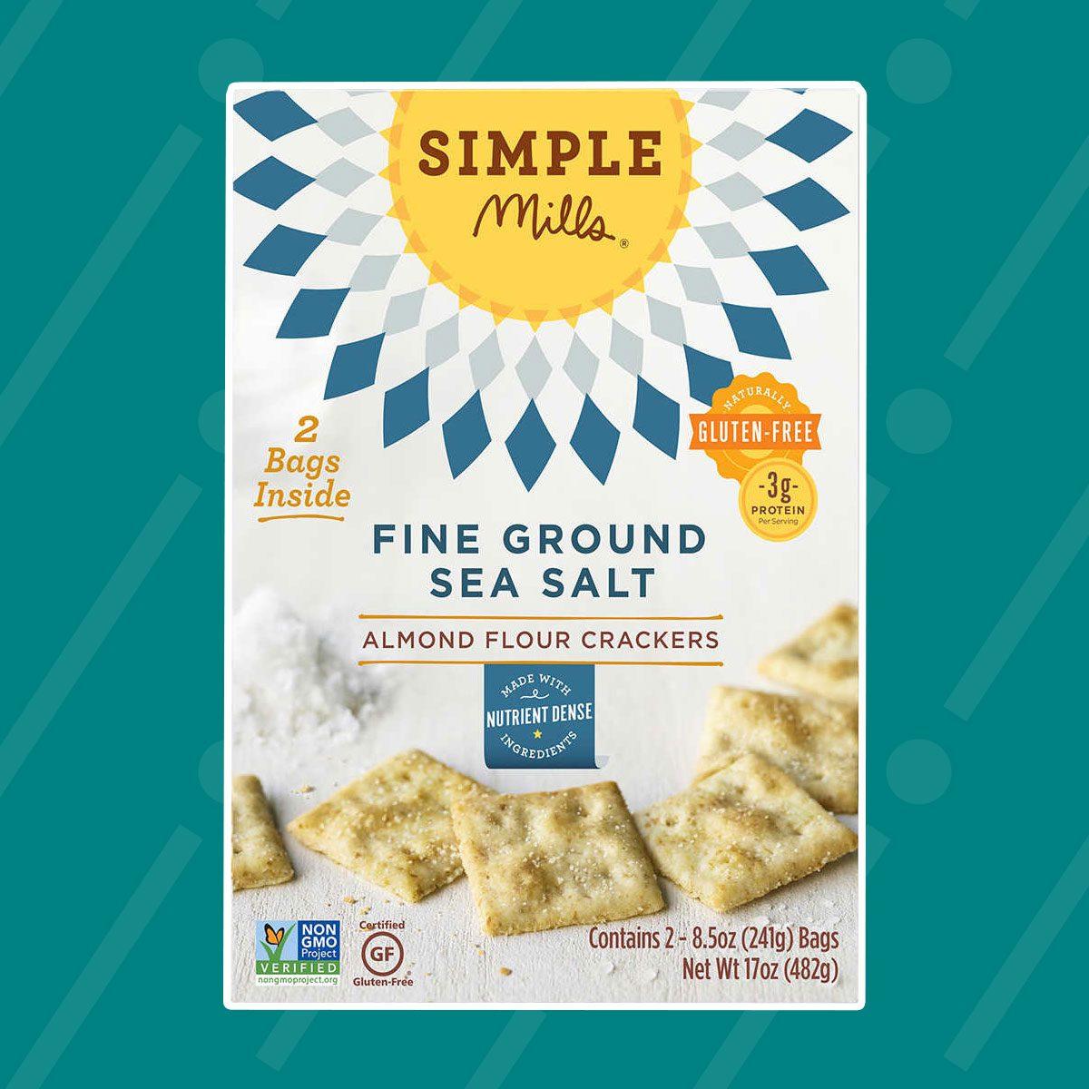 Almond Flour Sea Salt Crackers