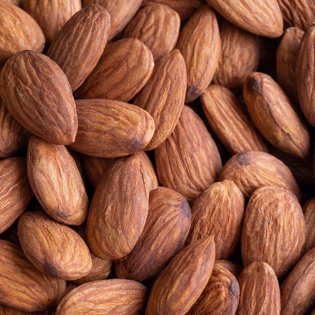 Close-up of Almond Kernels