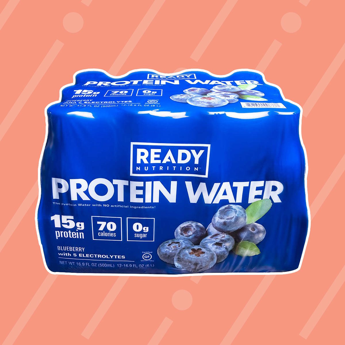 Come Ready Blueberry Protein Water