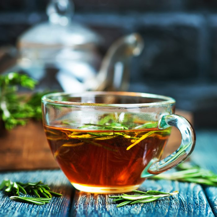 rosemary tea; Shutterstock ID 590168993; Job (TFH, TOH, RD, BNB, CWM, CM): TOH