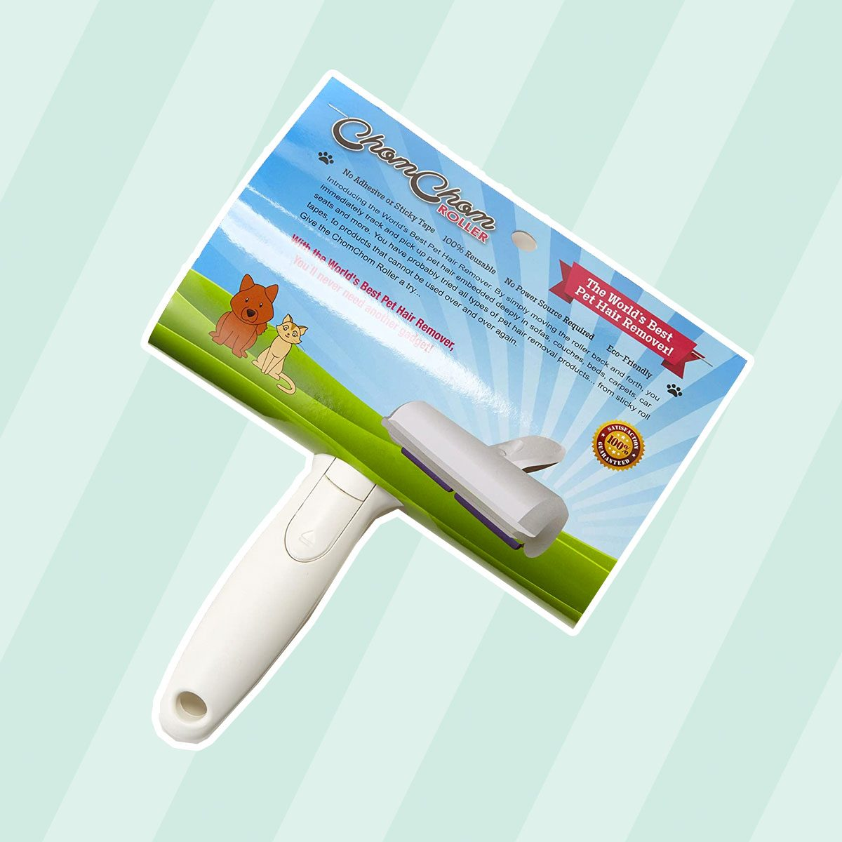ChomChom Roller Dog Hair Remover, Cat Hair Remover, Pet Hair Remover