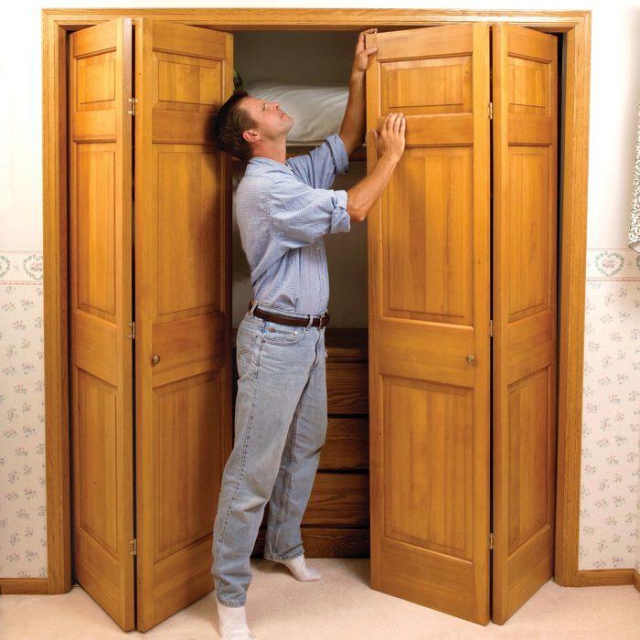 Fix Stubborn Bifold Closet Doors