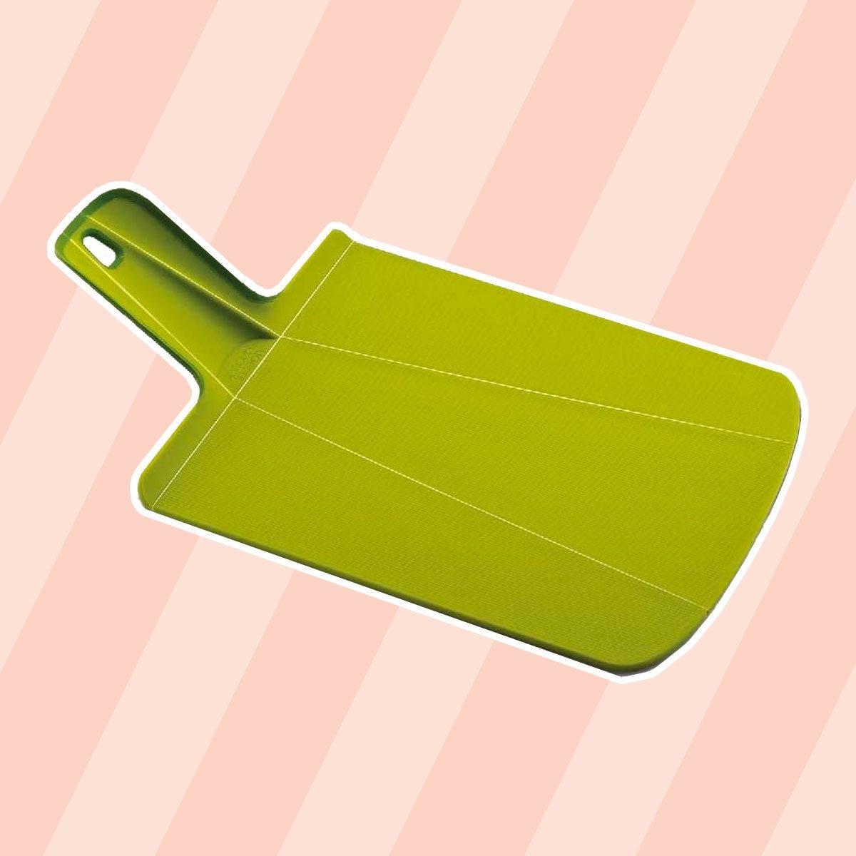 Joseph Joseph NSG016SW Chop2Pot Foldable Plastic Cutting Board 15-inch x 8.75-inch, Small, Green