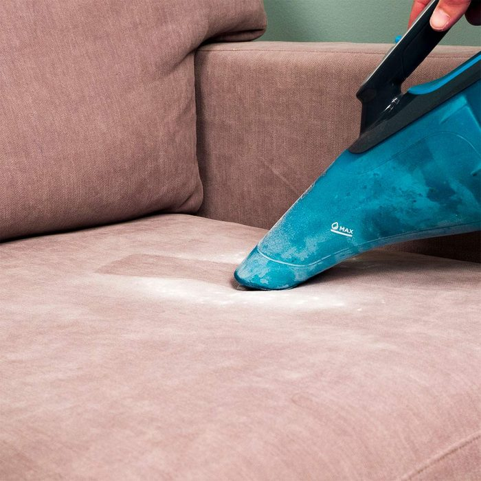 Baking soda on the couch