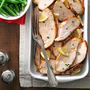 Pressure-Cooker Herbed Turkey Breasts