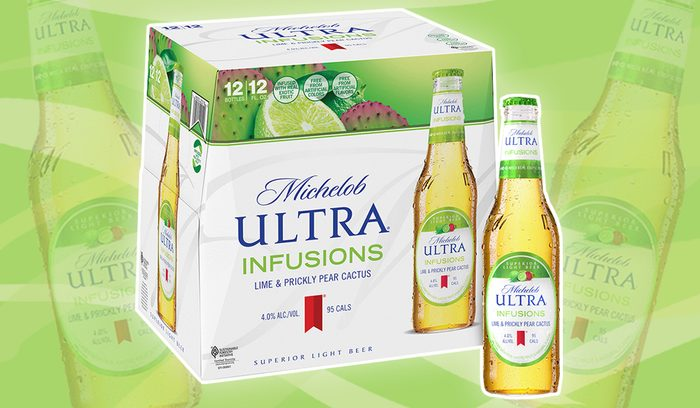 Michelob Ultra Flavors feature
