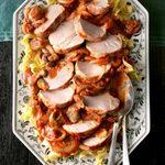 Pressure-Cooker Mushroom Pork Ragout