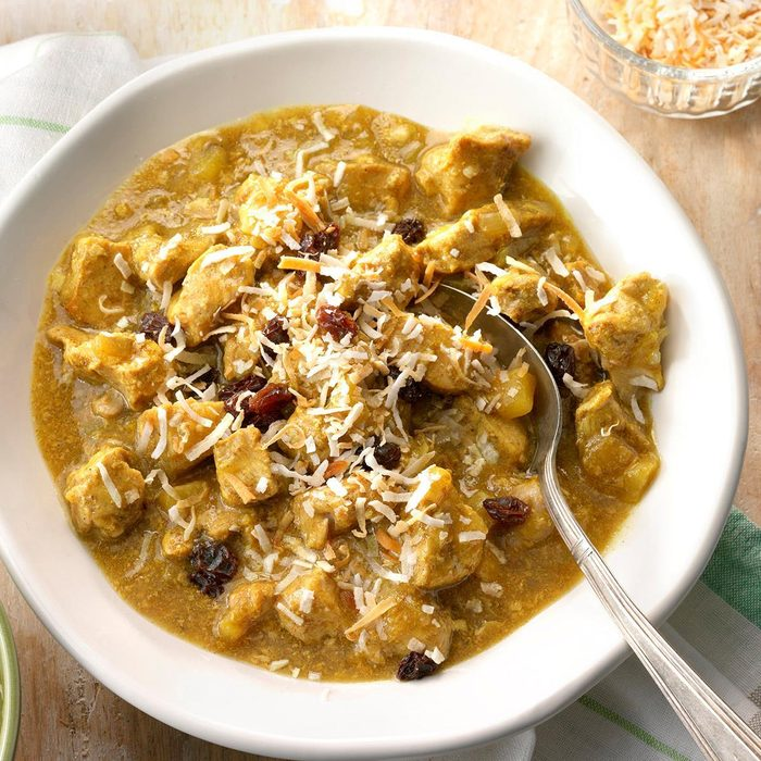 Pressure-Cooker Pork and Apple Curry