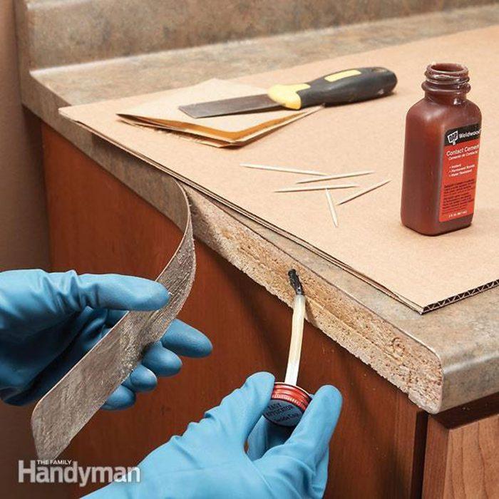 Repairing countertop