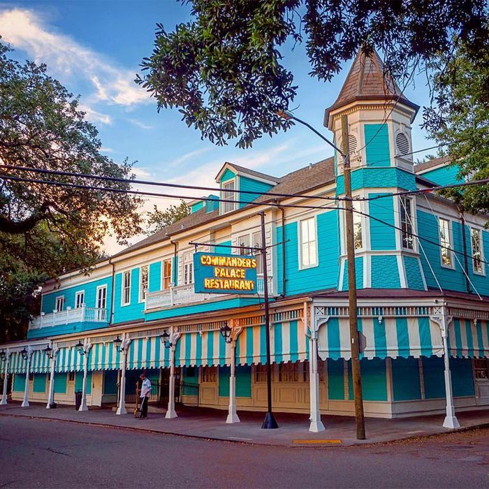 food,travel, Commander's Palace in New Orleans